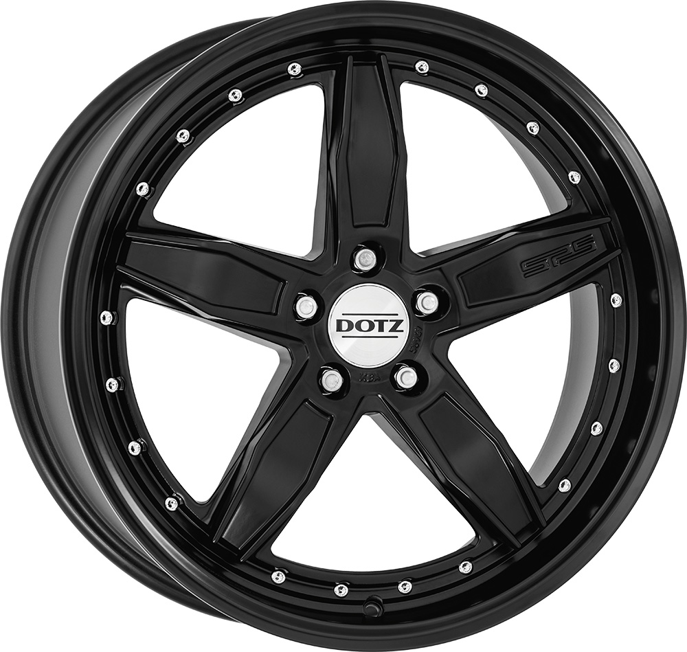 DOTZ SP5 black edt. 8x18 5x112 ET35